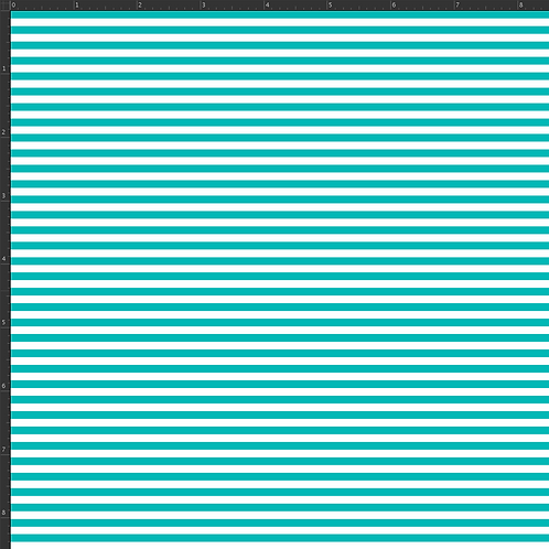 Michelle's 1 yard of Teal Micro Stripes - Cotton Lycra