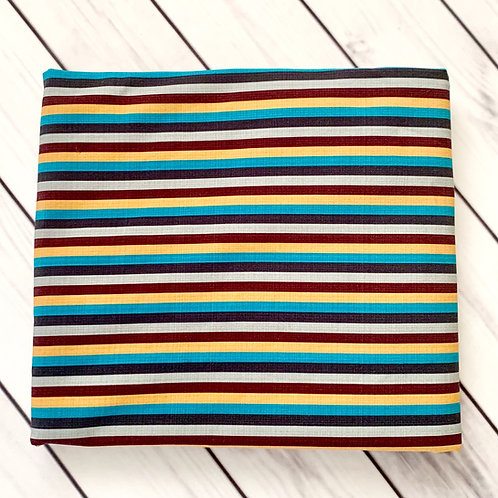 "Erica's **1 YARD** ""Wild Stripes!"" - Cotton Lycra"