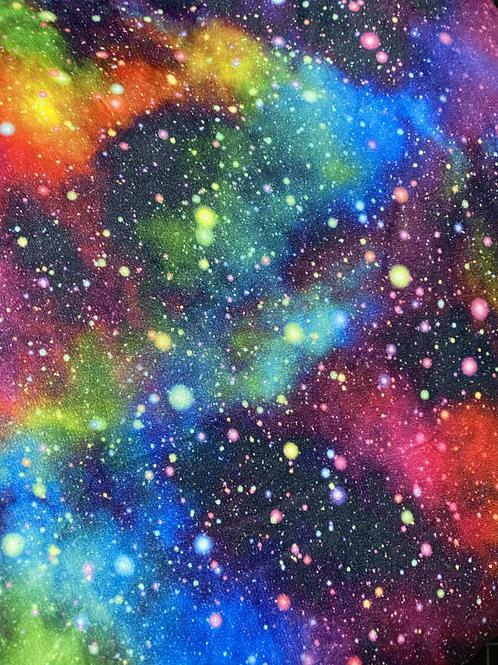 Erica's 1 yard cut of Rainbow Galaxy-LIGHT CUDDLE