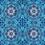 Thumbnail: Michelle's 1.5 Yard of Blue Mandala - Bamboo Lycra