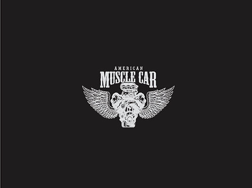 Michelle's Muscle Car Child Panel- Cotton Lycra