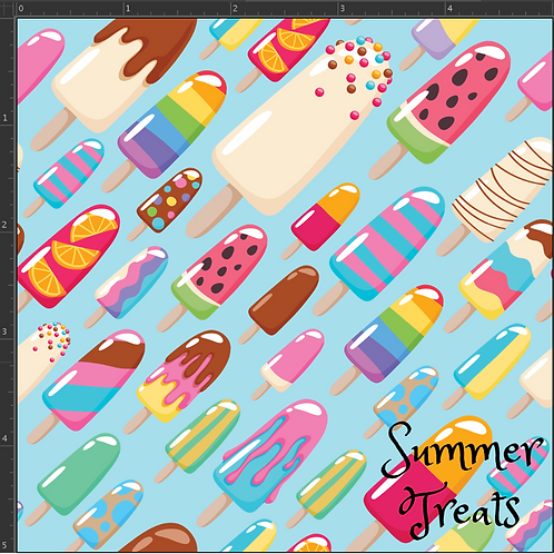 RE-PRINT Summer Treats