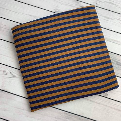 Erica's Raven Yarn Dyed Stripe Cotton Lycra
