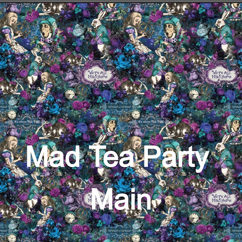 Michelle's 1.5 yard cut of Mad Tea Party - Cotton Woven