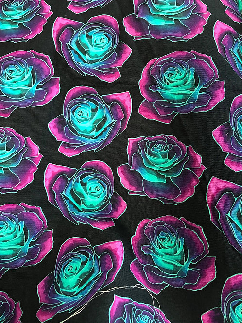 Michelle's 1 yard of Whimsy Roses- Canvas