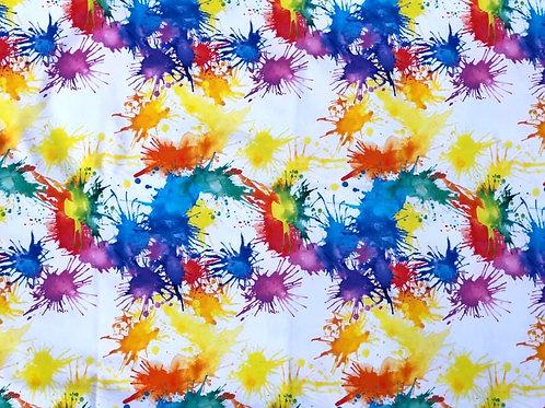Michelle's Paint Splatter-Cotton Lycra