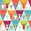 Thumbnail: Erica's Bright Geo Deer-COTTON LYCRA