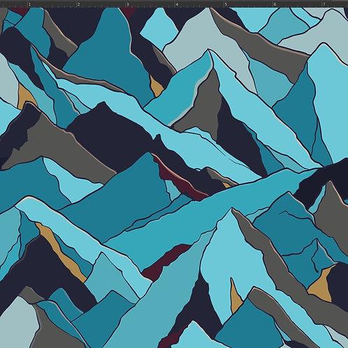 RE-PRINT Majestic Mountains