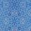 Thumbnail: Michelle's **1 Yard** Blue Mandala Cotton Lycra