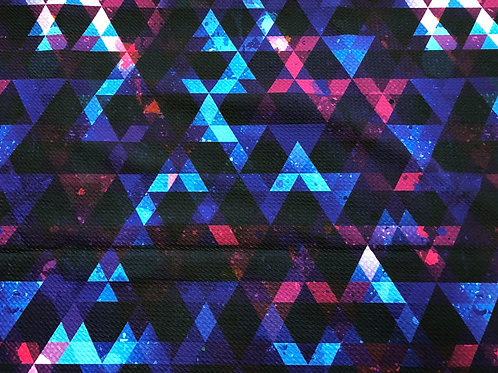 Michelle's Galaxy Triangles -Bullet Knit