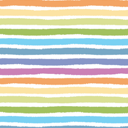 RE-PRINT of Painted Pastel Stripes