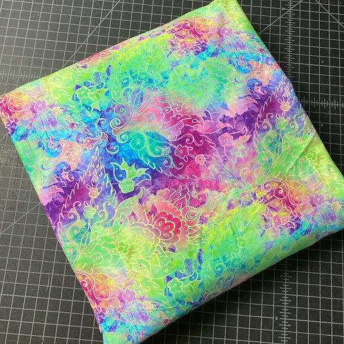 Erica's 1 yard of Pastel Splash Mandala- Cotton Lycra