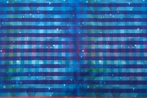 Michelle's Blue Acid Rain Stripes- Light Cuddle
