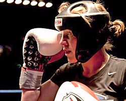 kickboxing world champion, female fighter, kickboxing for girls southampton, freestylr kickboxing