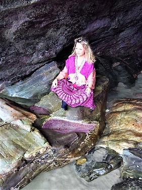 Chant et méditation grotte en Galice