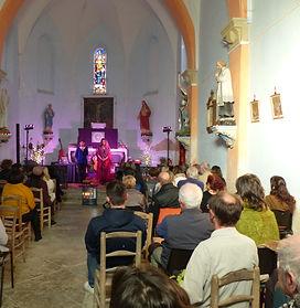 Concert Vibratoire église de Senesse de Senabugue