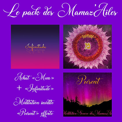 "Achat ""Mem"" + ""Infinitude""   Méditation inédite           ""Présent"" offerte"