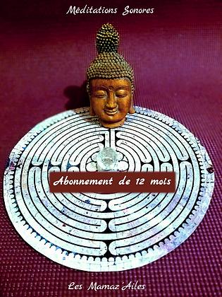 Méditations Sonores - Abonnement 12 mois