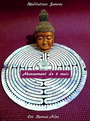 Méditations Sonores - Abonnement 6 mois