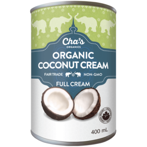 Cha's Organics Coconut Cream Full Cream