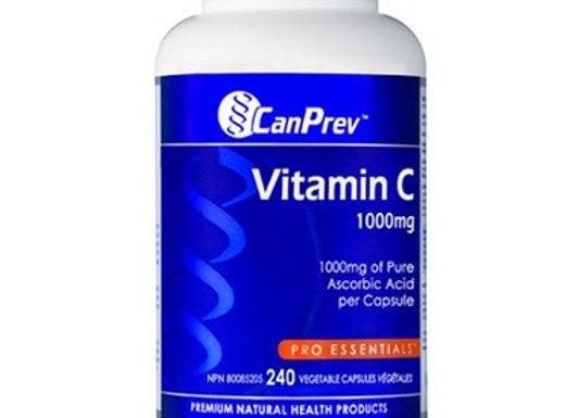CanPrev Vitamin C (240 vegetarian caps)