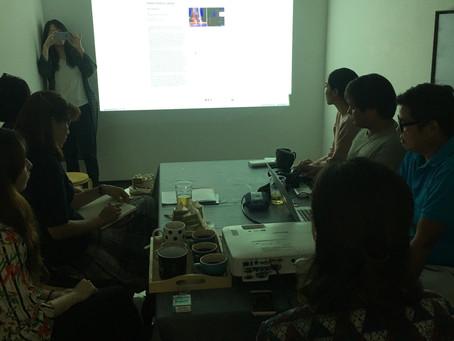 <기억의 해체, 미디어적 재건축> 상영회 screening, Overlab, Gwangju
