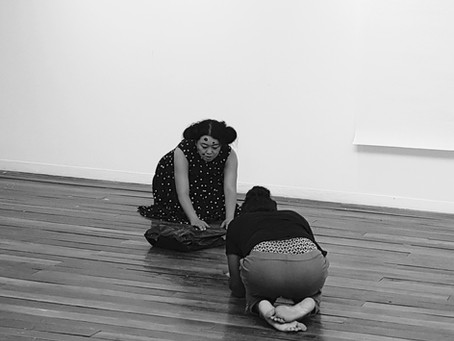 <In process>, performance, 호랑가시나무 아트 폴리곤, 07.04,2018