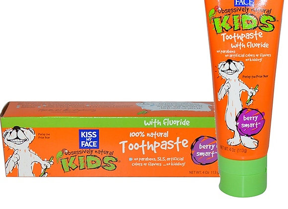 Kiss My Face Berry Toothpaste