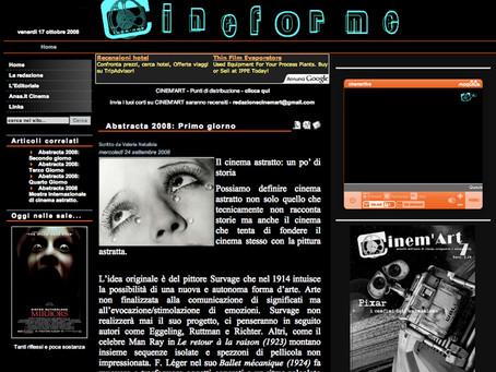 Abstracta 2008: Primo giorno