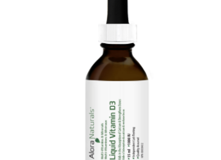 Alora Naturals Liquid Vitamin D3 (25ml)