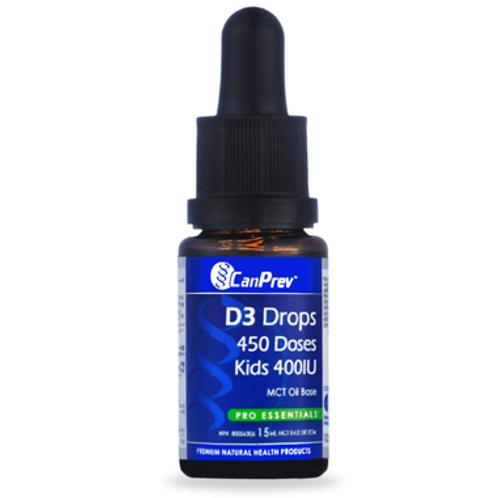 CanPrev D3 Drops for Kids 400iu