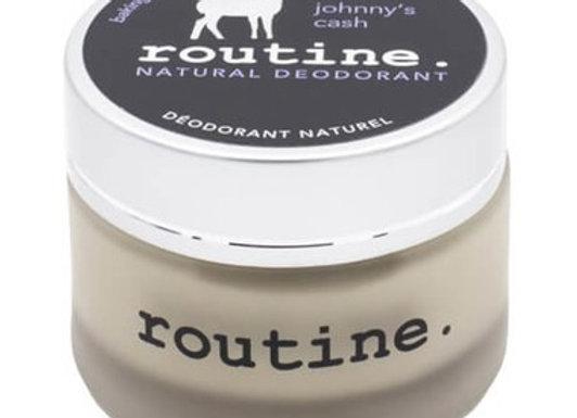 Routine Baking Soda Free De-Odor-Cream Natural Deodorant Johnny's Cash