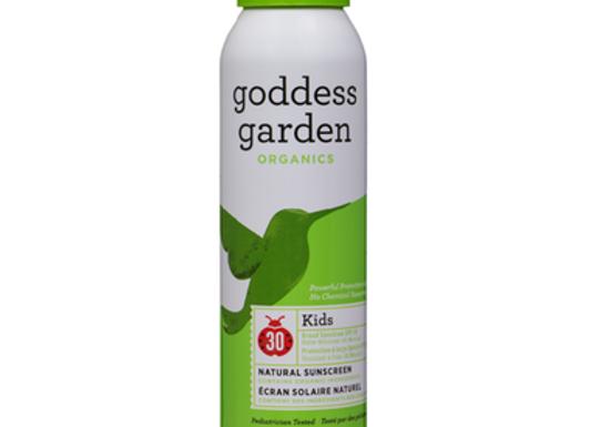 Goddess Garden Kids Continuous Spray Sunscreen