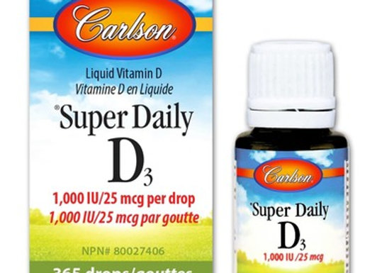 Carlson Super Daily D3 Drops 1000 IU