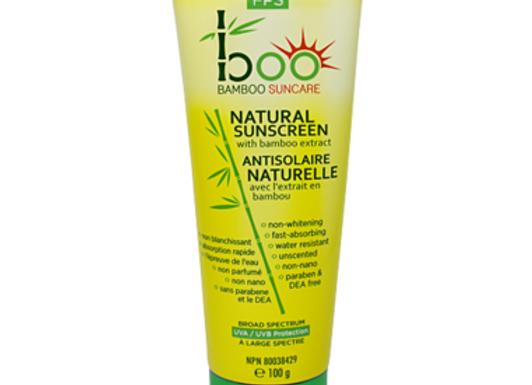 Boo Bamboo Suncare Natural Sunscreen with Bamboo
