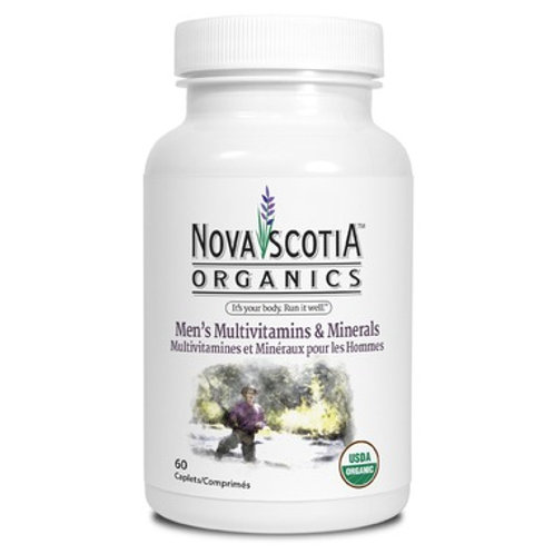 Nova Scotia Organics Men's Multivitamins & Minerals