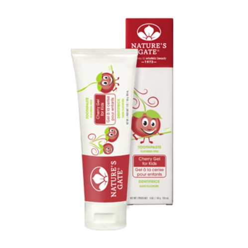 Natures Gate Kids Cherry Toothpaste