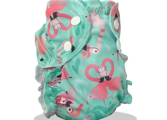 AppleCheeks Flamingo Swim Diaper