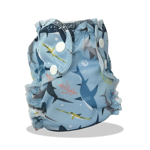 AppleCheeks Shark Swim Diaper