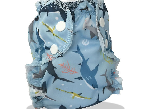 AppleCheeks Shark Swim Diaper