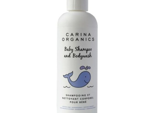 Carina Organics Baby Shampoo & Body Wash