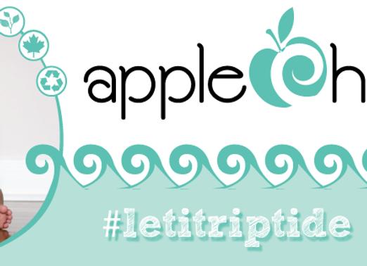 AppleCheeks Mini Zip - Riptide