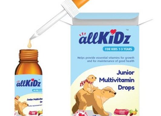 allKiDz Junior Multivitamin Drops (50ml)