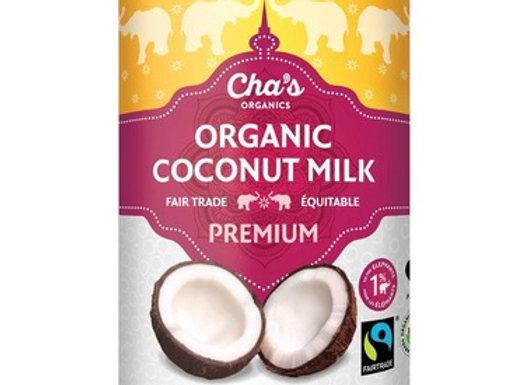 Cha's Organics Premium Coconut Milk