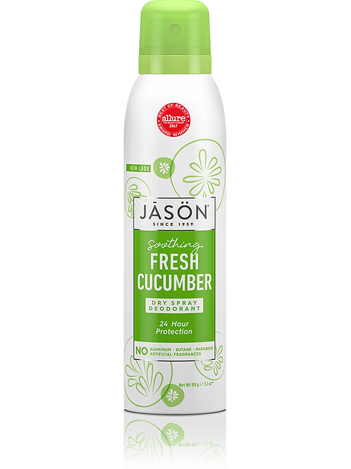 Jason Dry Spray Deodorant Fresh Cucumber