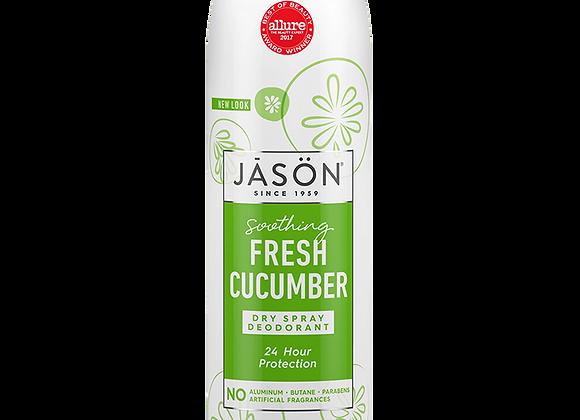 Jason Dry Spray Deodorant Fresh Cucumber