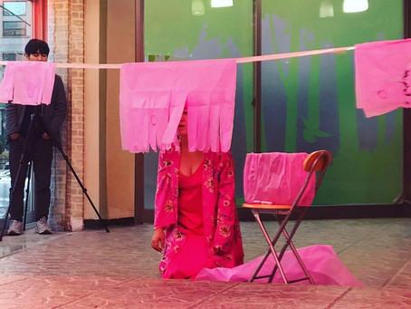 <핑크로부터의 사색3 Speculation from pink 3>, 개별자의 역사, 전주 Jeonju, Korea