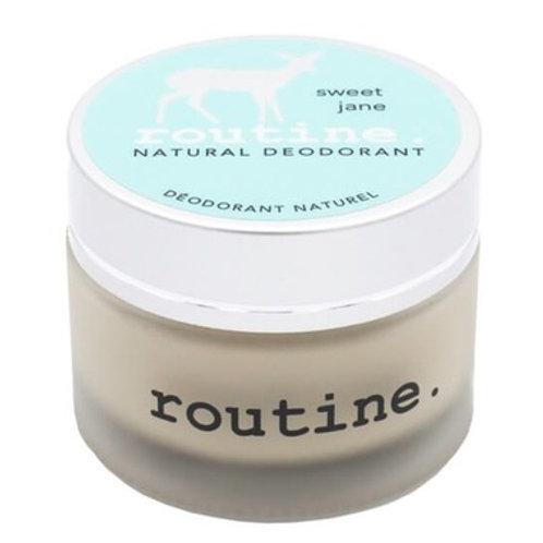 Routine De-Odor-Cream Natural Deodorant in Sweet Jane Scent