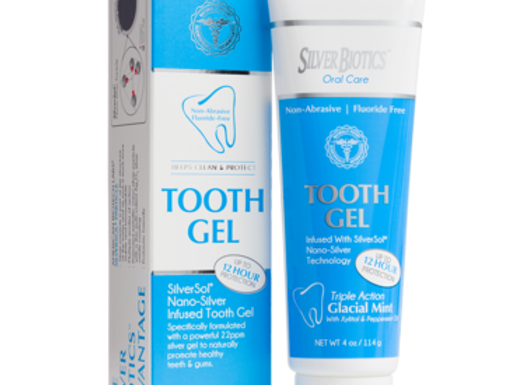 Save Silver Biotics Tooth Gel Glacial Mint