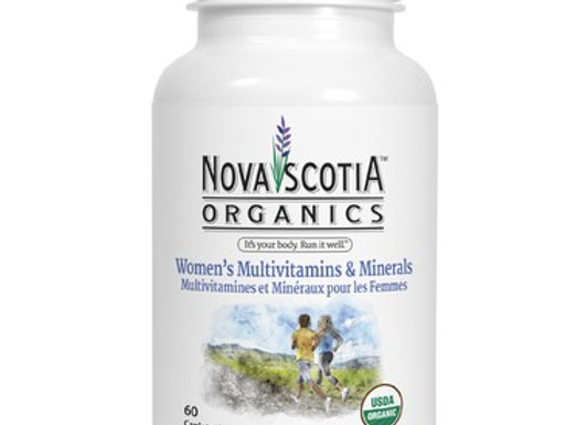 Save Nova Scotia Organics Women's Multivitamins & Minerals